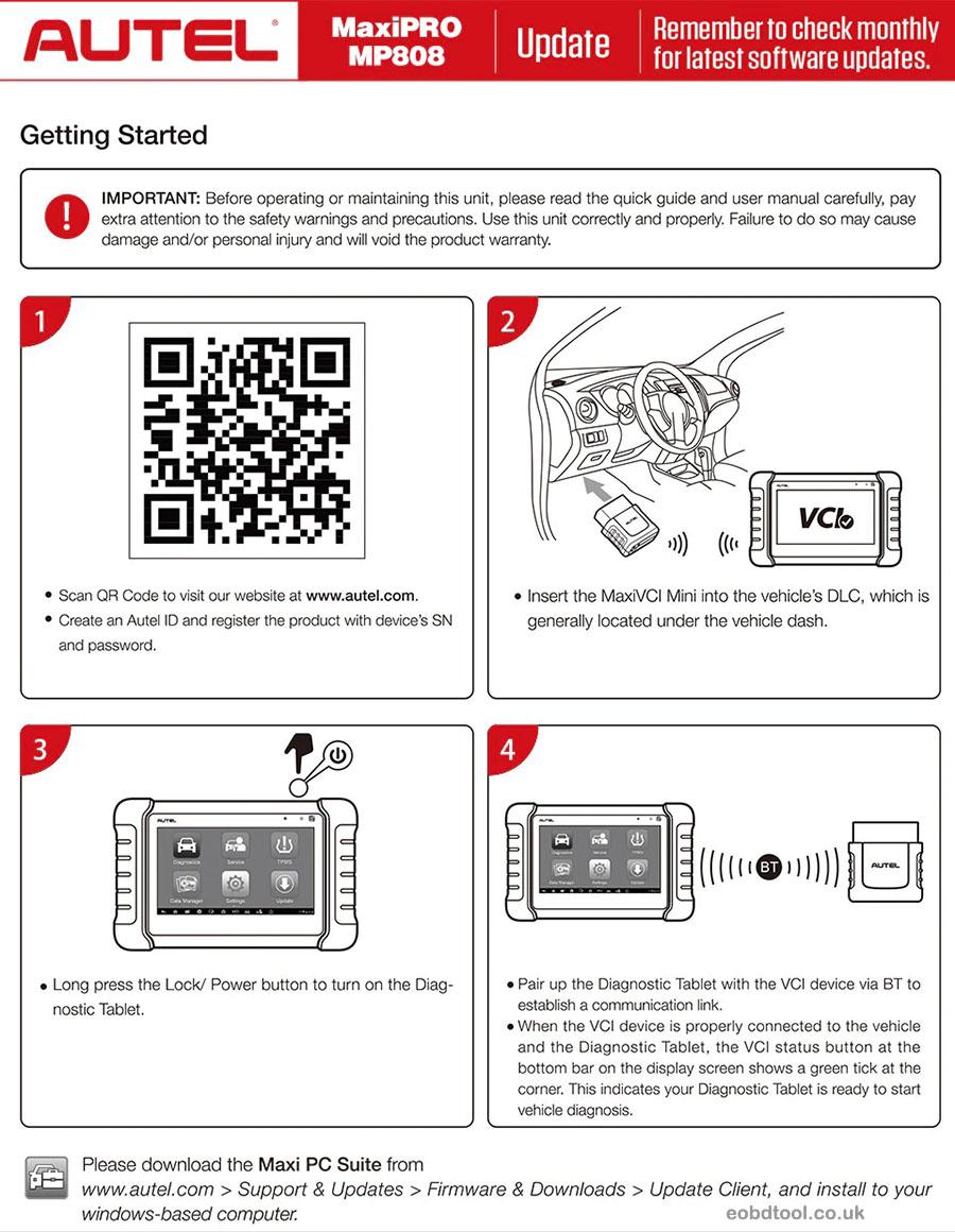 autel mp808k manual