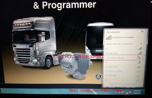 scania vci3 wifi setting