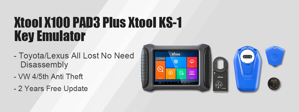 xtool x100 pad3 with ks-1 key emulator