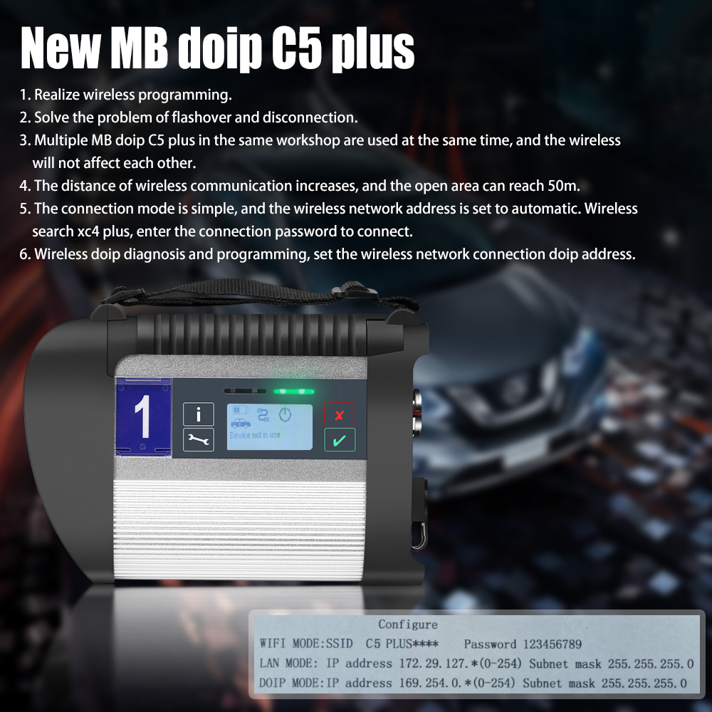 new mb doip c5 plus