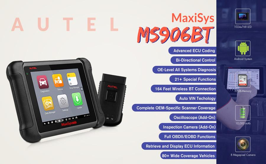 Autel ms906bt