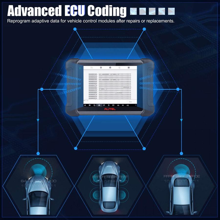 autel ms609b ecu coding