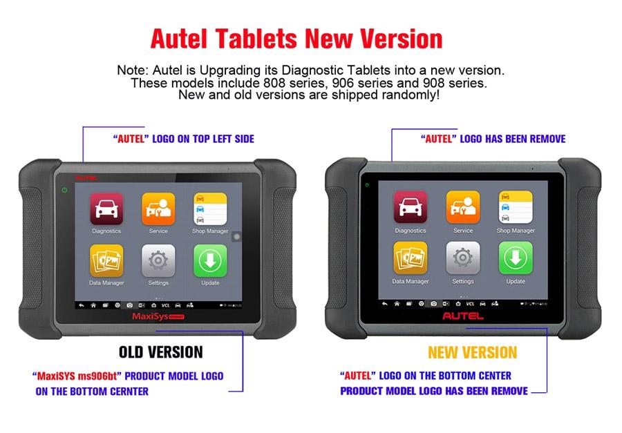 autel ms906bt new hardware