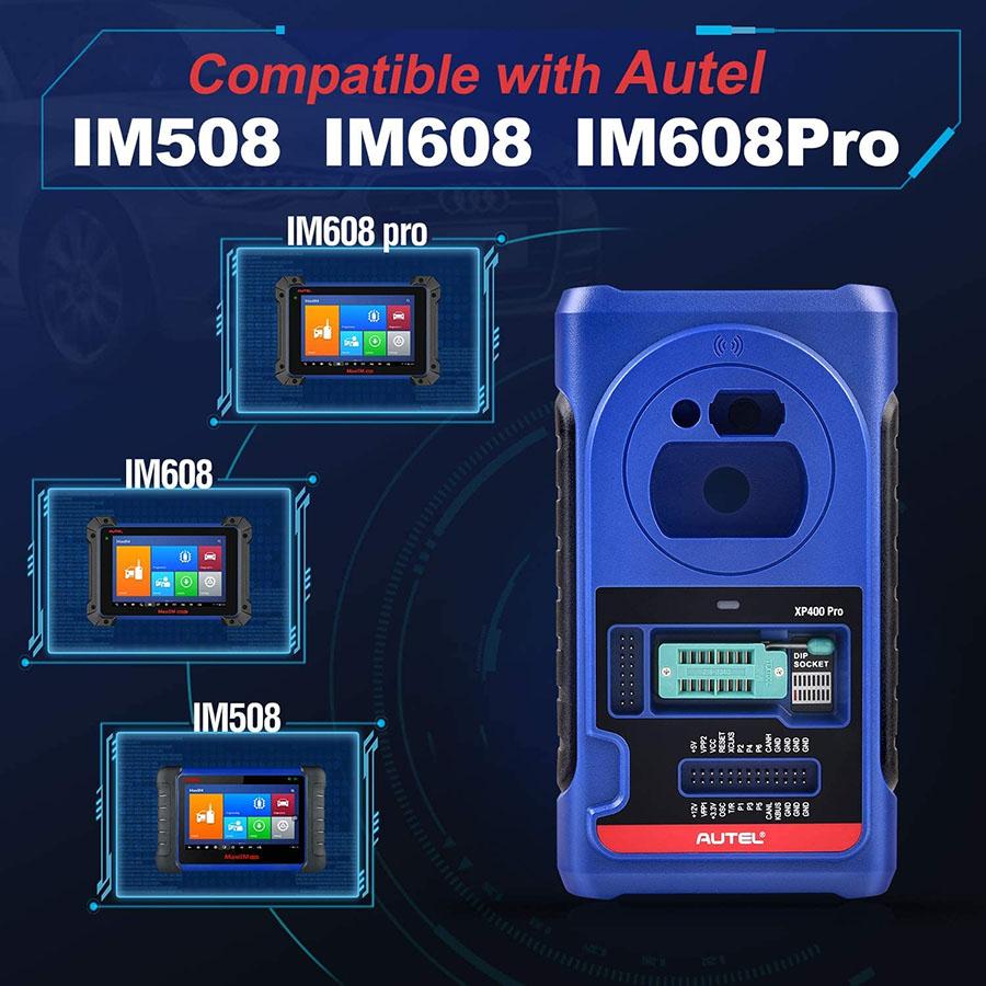 autel xp400 pro work with im508 im608