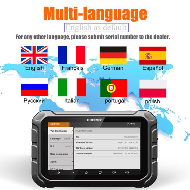 godiag gd801 multi-language