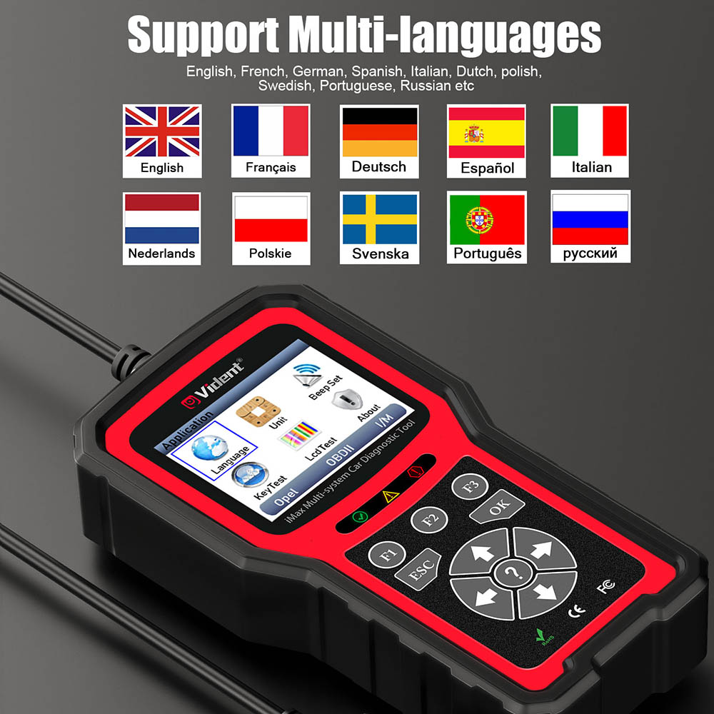 vident imax4305 language