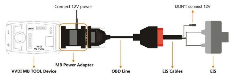VVDI MB Power Adapter Instruction