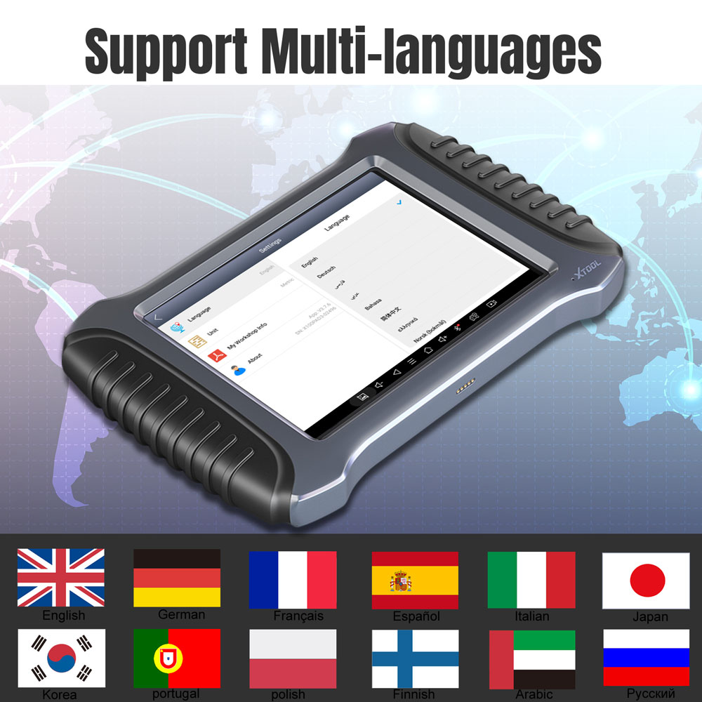 xtool x100 pad3 se languages