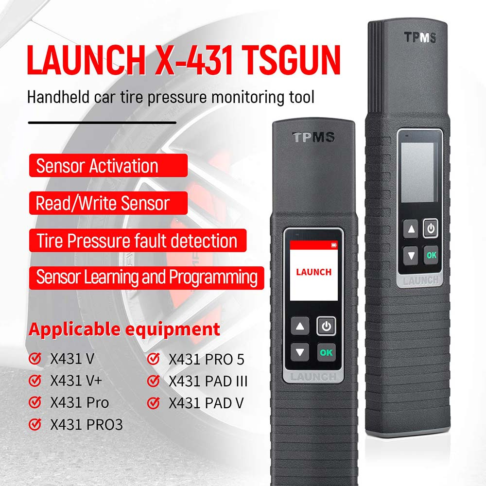 Launch x-431 tsgun function