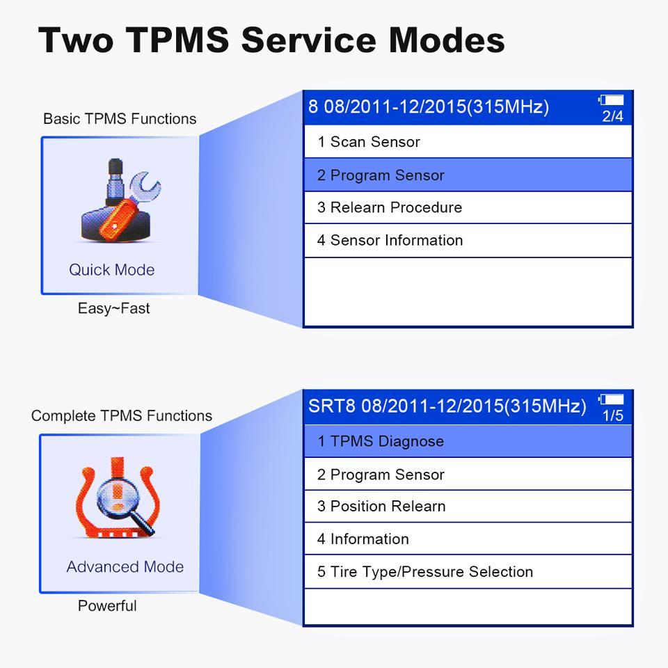 Autel MaxiTPMS TS508K TS508 New Generation TPMS Diagnostic