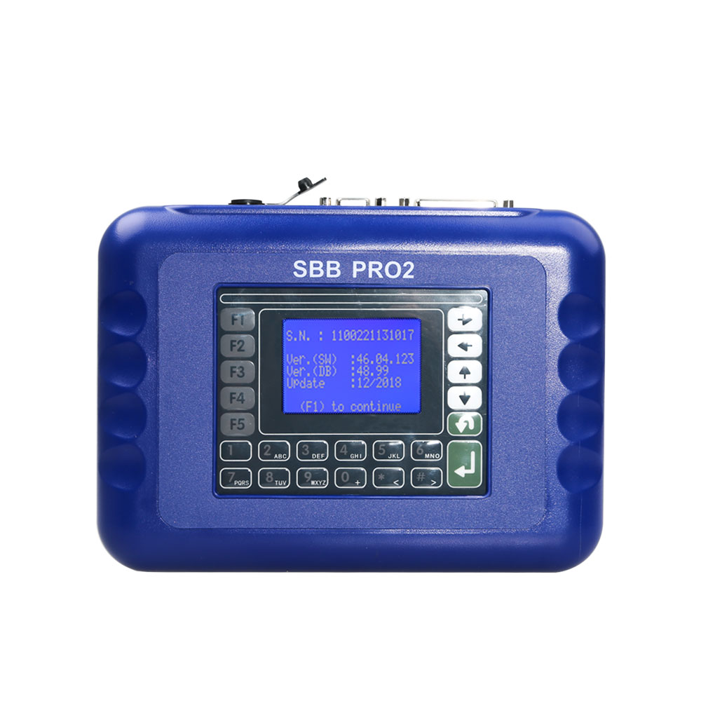 Sbb Pro2 Key Programmer Support New Cars to 2017 Replace SBB 46.02