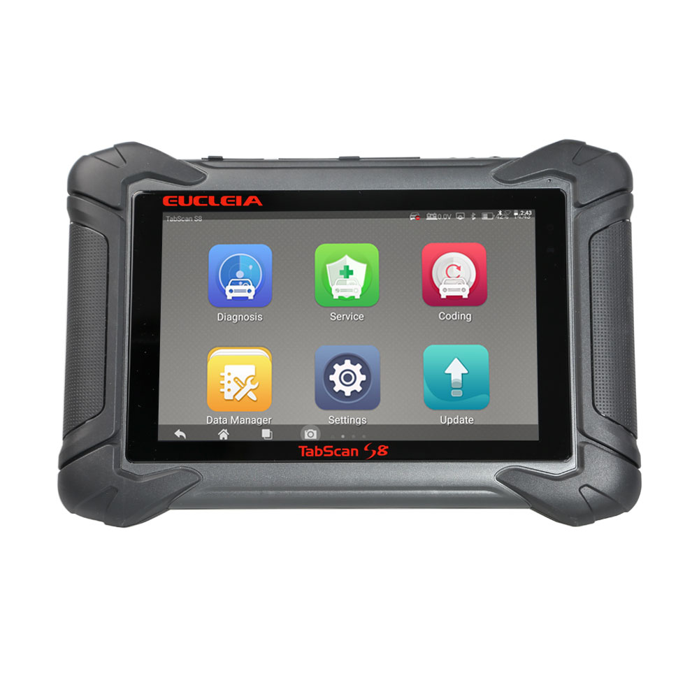 (National Day Promotion) EUCLEIA TabScan S8 Automotive Intelligent Dual-mode Diagnostic and Coding System Update Online