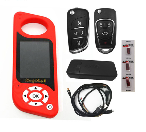JMD Handy Baby II Auto Key Tool for 4D/46/48/G Chips Programmer Handy Baby 2 English Version
