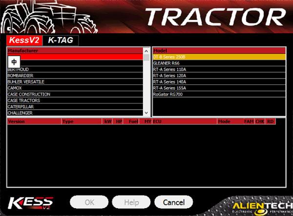 kess v5.17 tractor list