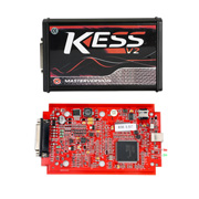 (UK Ship No Tax)2018 V2.47 Kess V5.017 EU Version with Red PCB New Add Buzzer Support Online Add 140+ Protocol No Token Limited