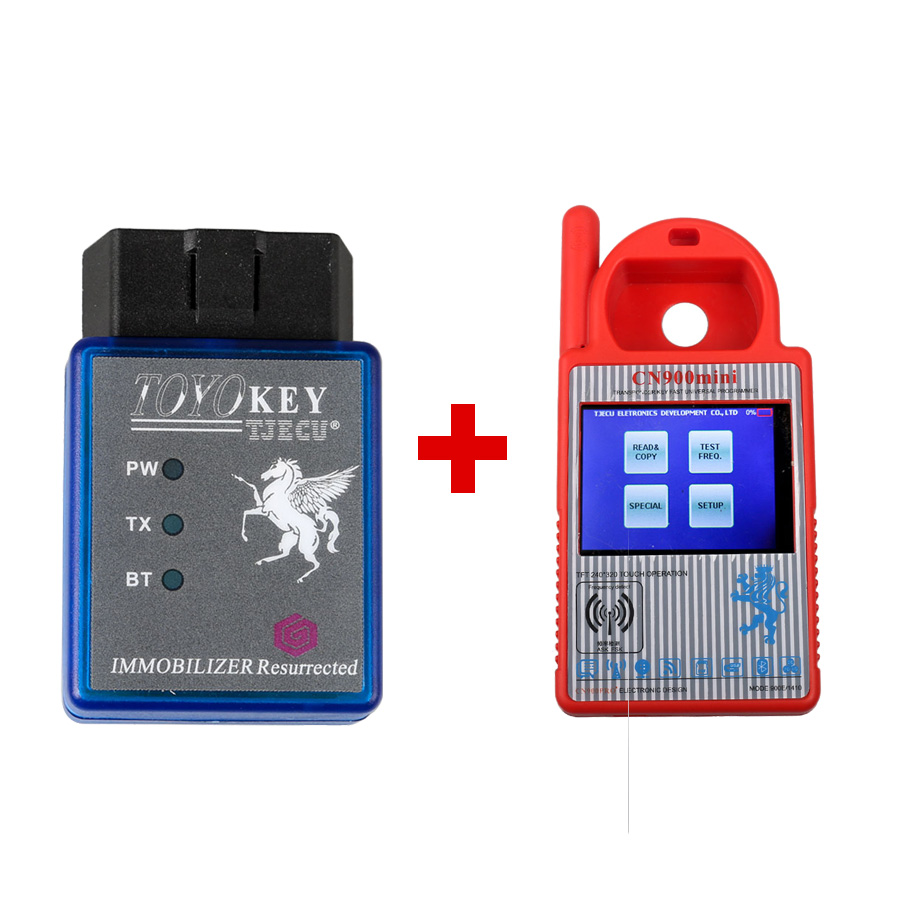 Mini CN900 Transponder Key Programmer Plus TOYO Ke...