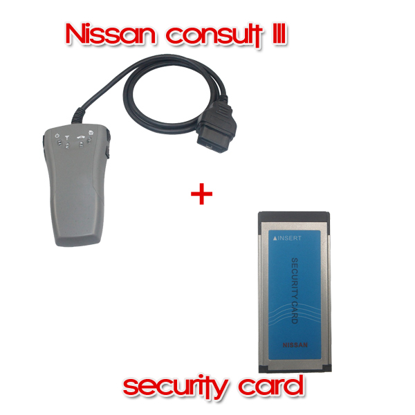 Nissan Consult III Plus Nissan Security Card for Immobilizer