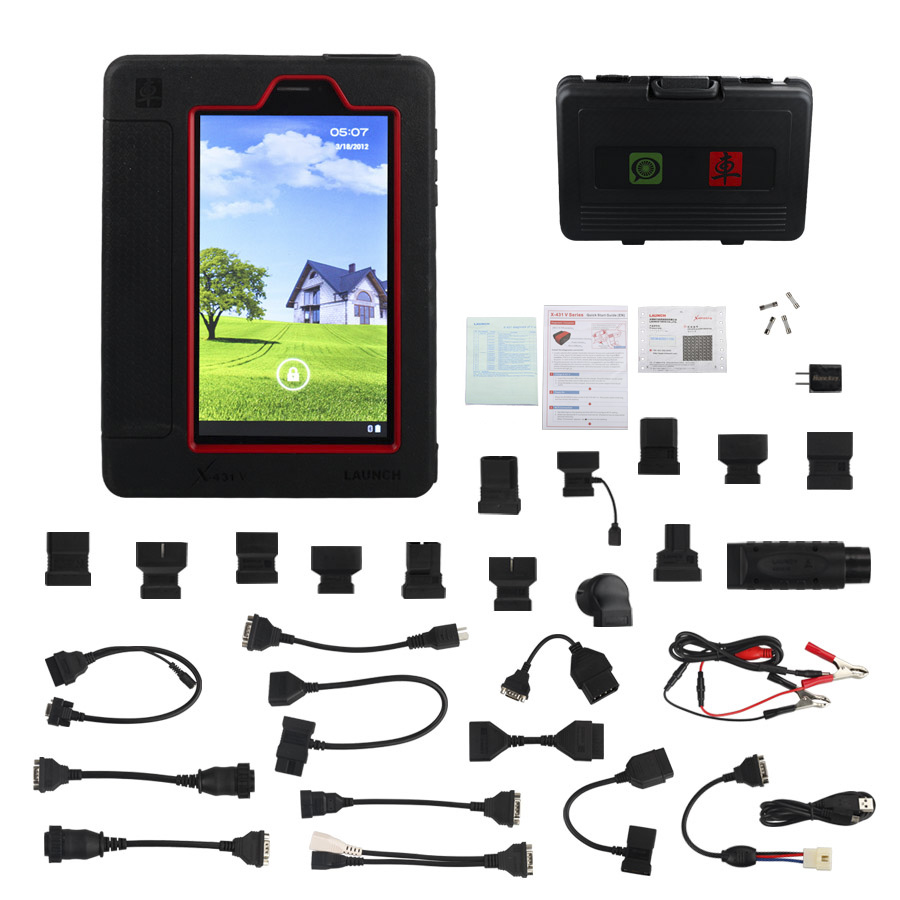 Original Launch X431 V Pro Wifi Bluetooth Global Version Full System Diagnostic Tool Two Year Free Update Online