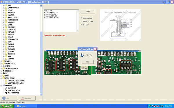 Carprog V8.21 Online Version With All Adapters Add More Authorizations