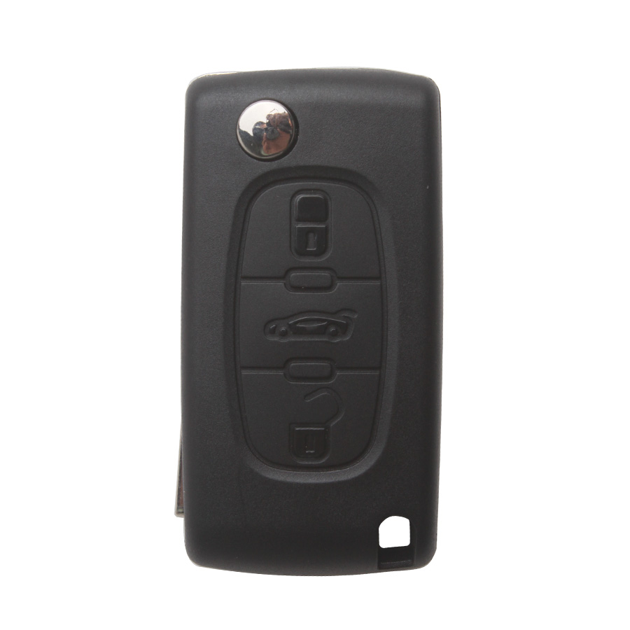Remote Key 3 Button 433MHZ HU83 3B( With Groove) for Citroen