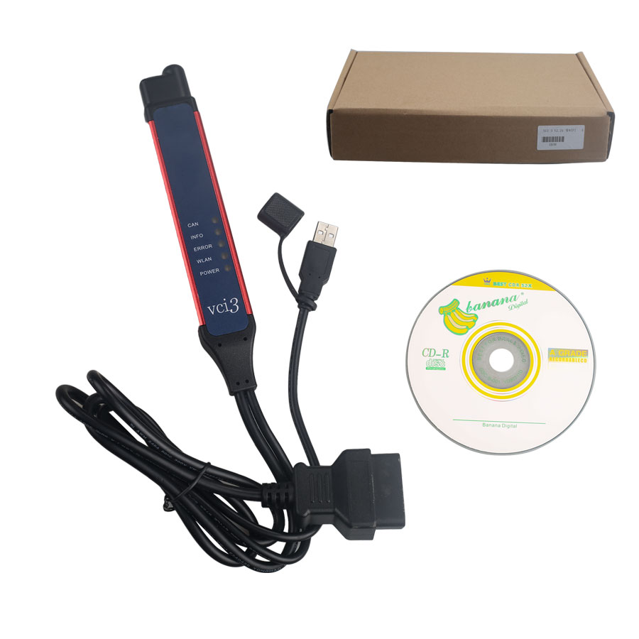 (UK Ship No Tax)V2.31 Scania VCI-3 VCI3 Scanner Wifi Wireless Diagnostic Tool for Scania Multi-Language