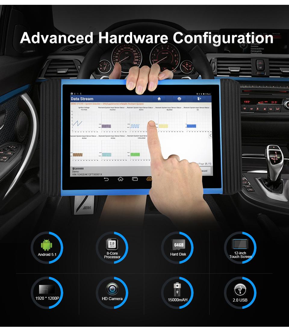 TOPDON ArtiPad I hardware configuration