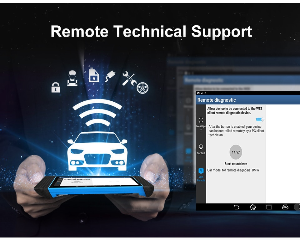 TOPDON ArtiPad I remote technical support