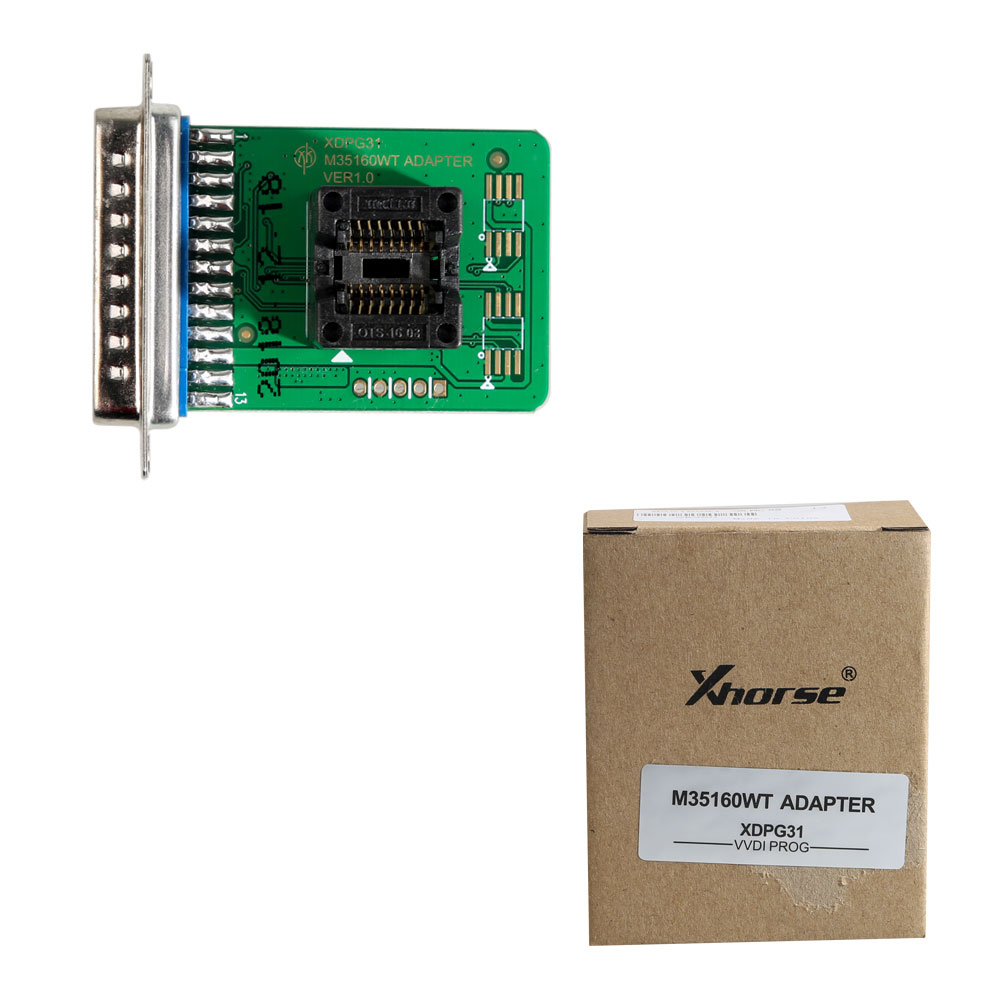 Pre-order Xhorse VVDI Prog M35160WT Adapter to Read and Write 35160WT/35128WT/XDPG31CH Chip