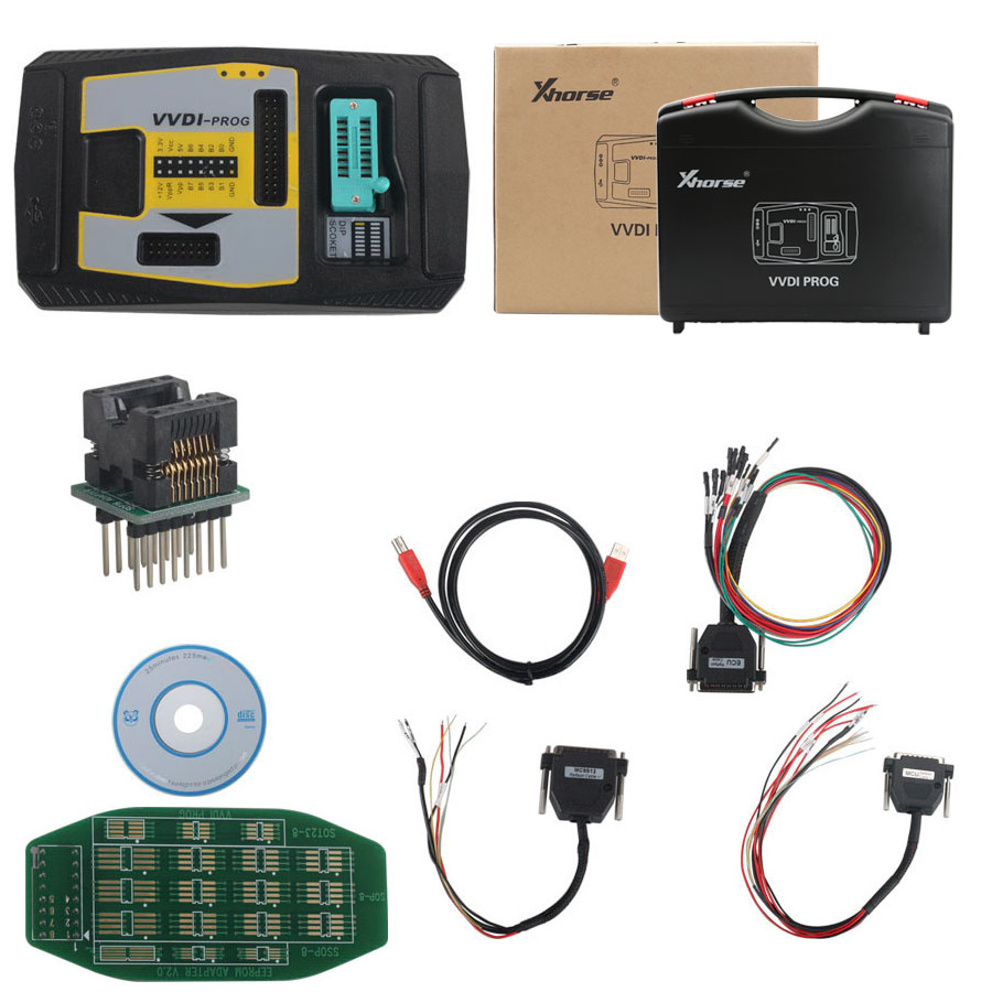 (UK Shipping No Tax)Xhorse VVDI Prog V4.6.5 Super Programmer with Free BMW ISN read function and NEC, MPC, Infineon