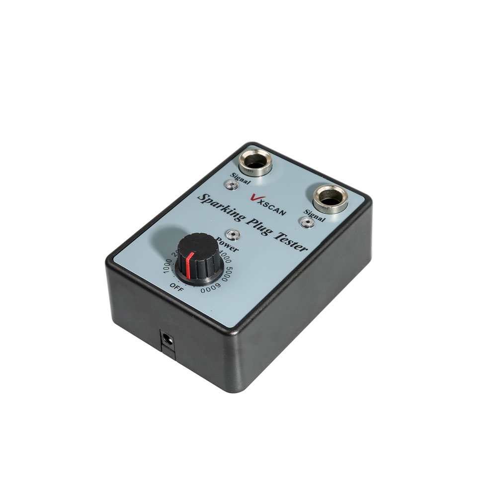VXSCAN Car Spark Plug Tester with Adjustable Double Hole Detector ...