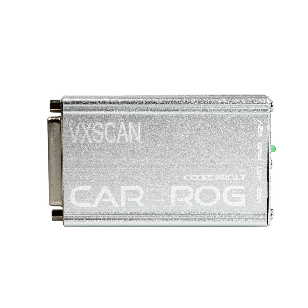 VXSCAN Carprog Full V8.21 Firmware Perfect Online Version SW V10.93 with All 21 Adapters Including Much More Authorization