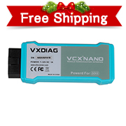WIFI Version VXDIAG VCX NANO VAS 5054 ODIS V4.3.3 OEM Diagnostic Tool Support UDS protocol and Multi-language