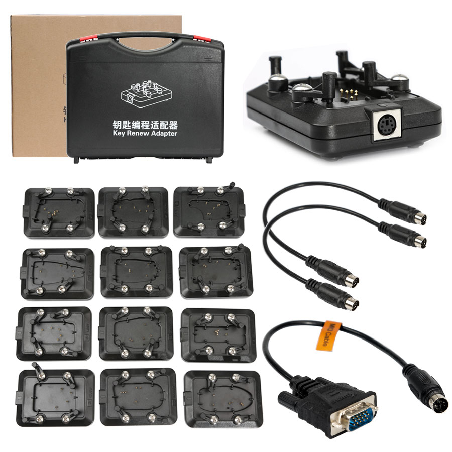 Buy Original Xhorse VVDI Key Tool Renew Adapter Full Set 12pcs Get Free XDKTR1EN Renew Adapter 13-24 Free Shipping by DHL